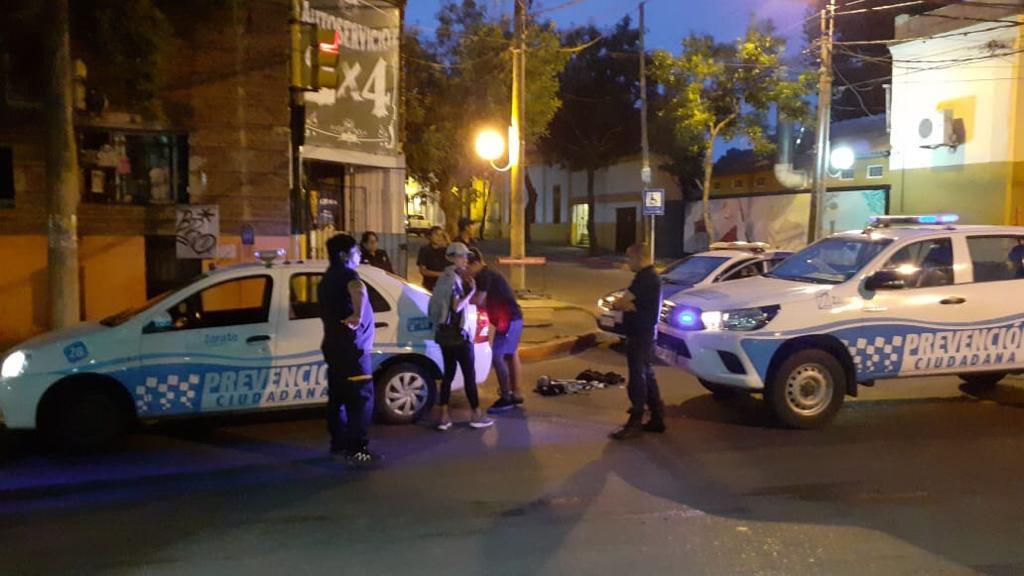 DPU intercepta delincuentes que habían robado un kiosco