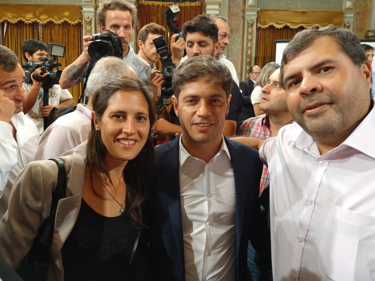 """El Municipio presente en la firma del convenio """"Argentina Contra el Hambre"""""""