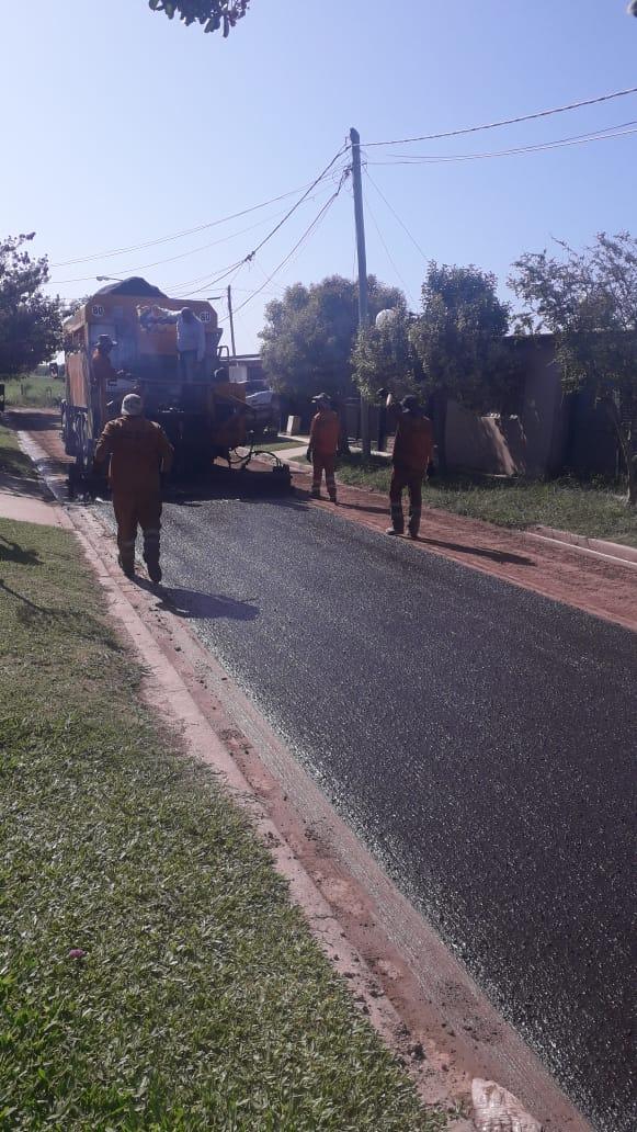 Lima: Comenzó obra de microaglomerado asfáltico y limpieza
