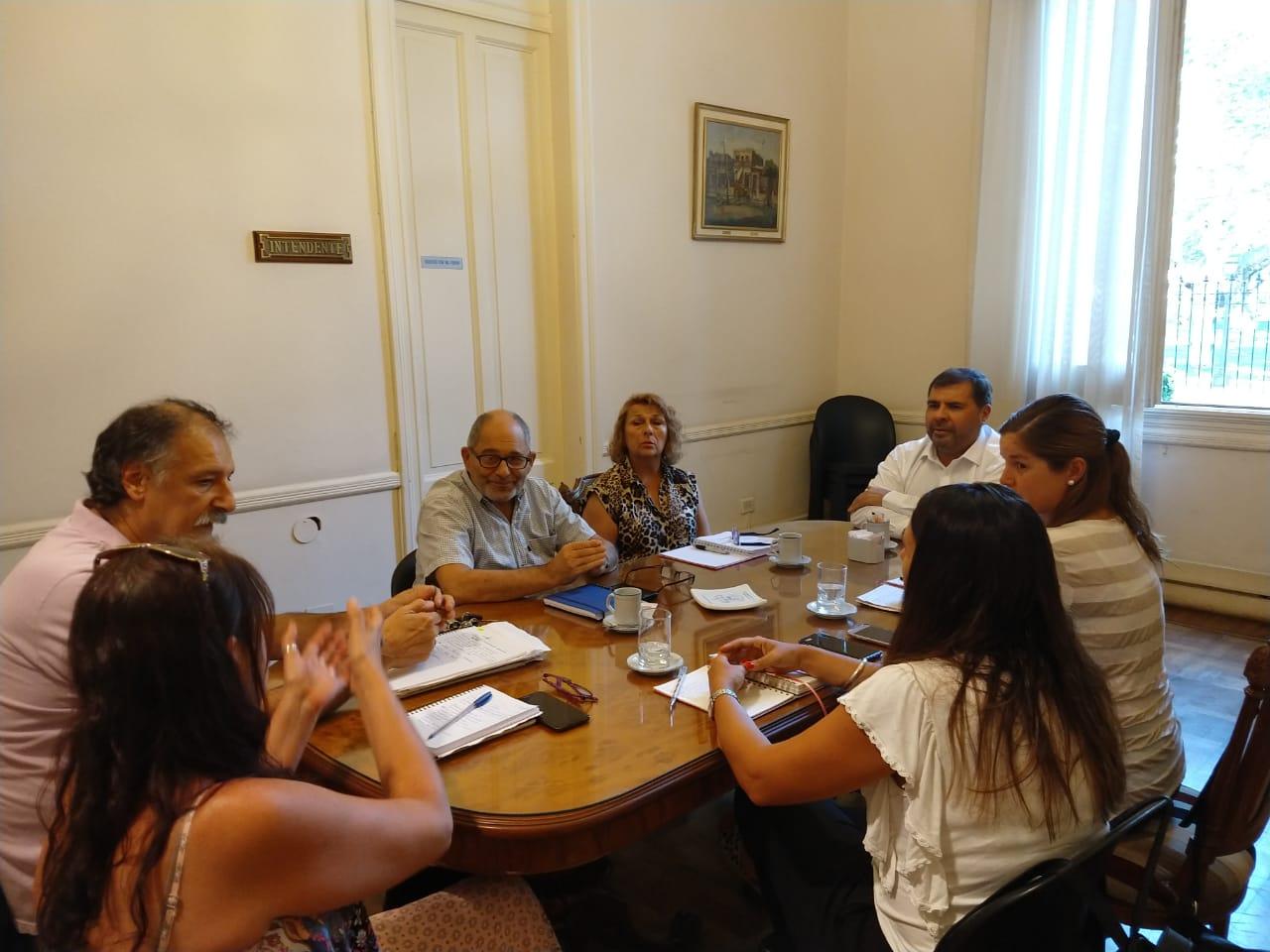 Reunión con el Colegio de Psicólogos y de Asistentes Sociales