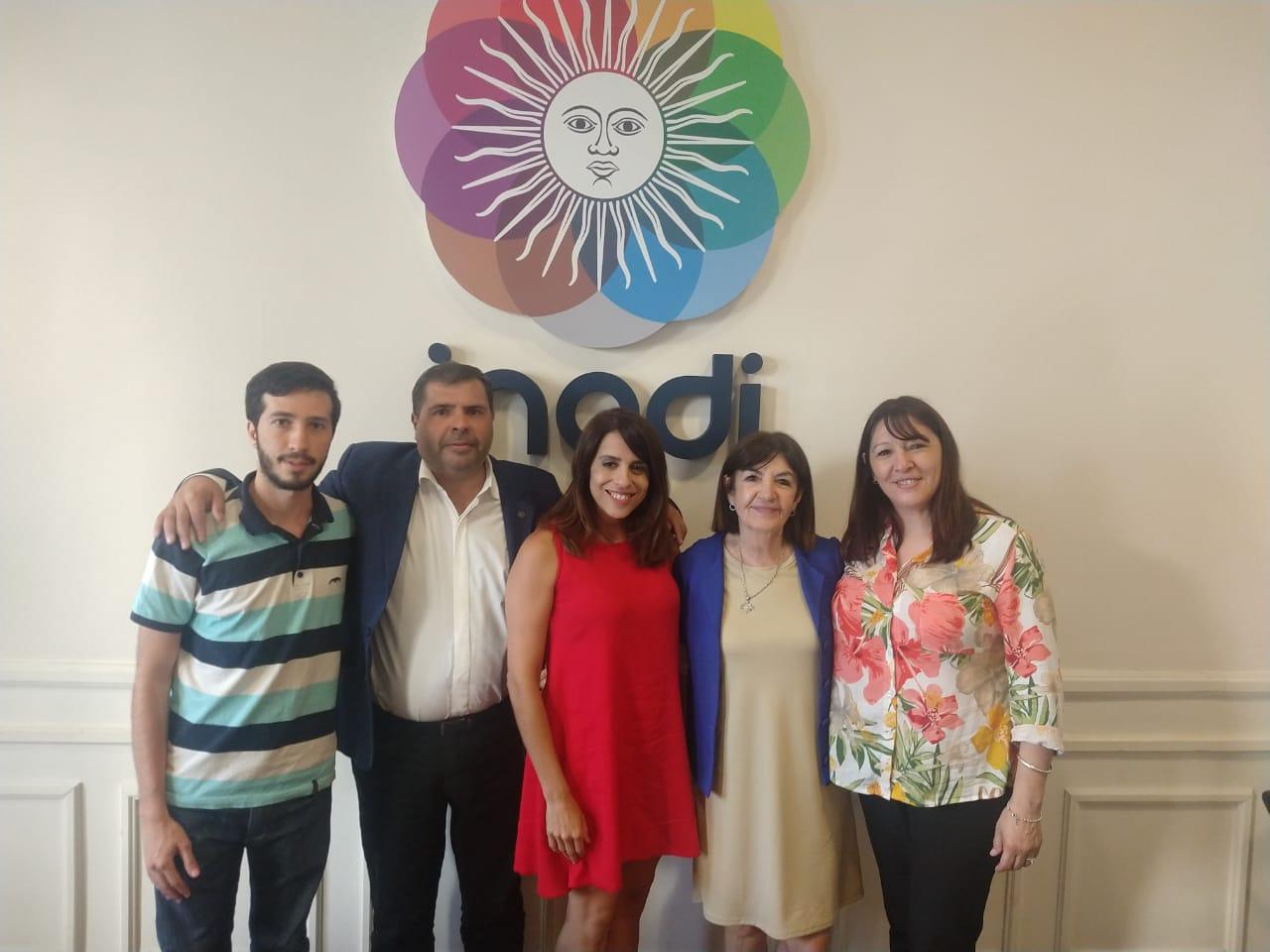 Municipio se reunió con Victoria Donda y Pablo Arburua