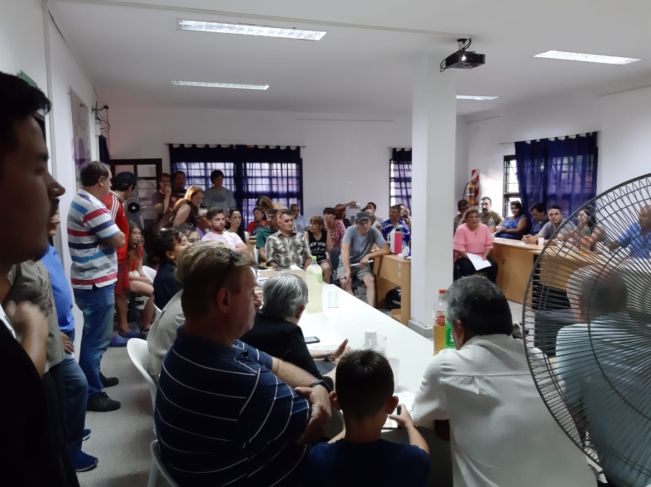 Se realizó la primera reunión con todas las instituciones de barrios de Lima