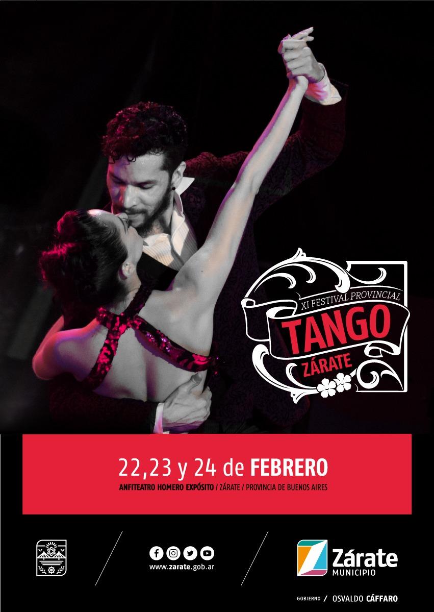 Se presentó el 11° Festival Provincial e Internacional deTangode Zárate