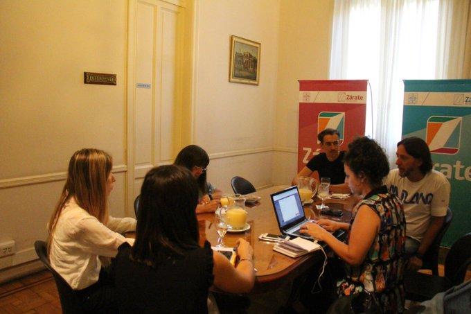 Municipio de Zárate mantuvo una reunión con autoridades de cultura y turismo de la Provincia de Buenos Aires