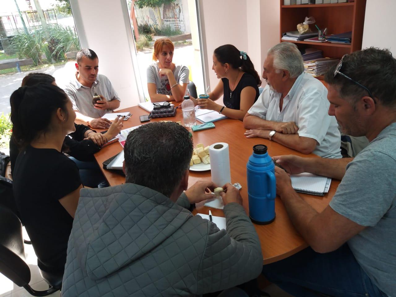 Conformación de Mesa Municipal Intersectorial para Escalada y zonas rurales