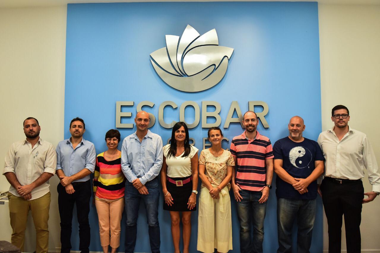 Municipio se reunió con funcionarios de Escobar