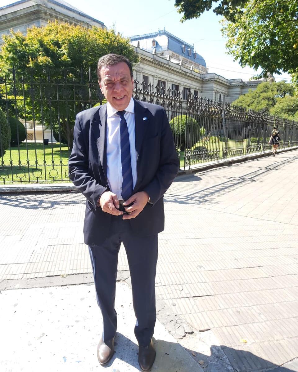 El Intendente Cáffaro presente en la apertura de sesiones de la Legislatura