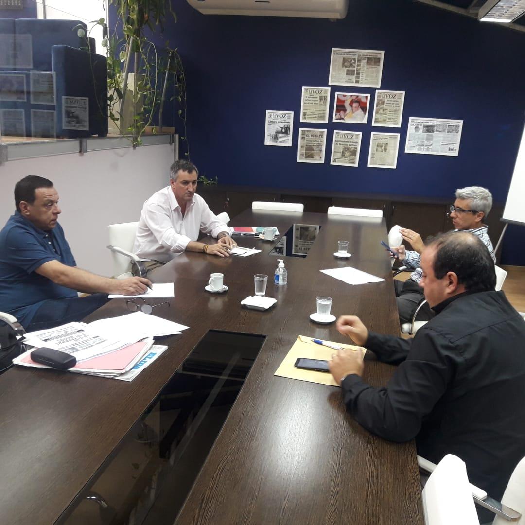 Emergencia Sanitaria: Municipio se reunión con empresas de transporte