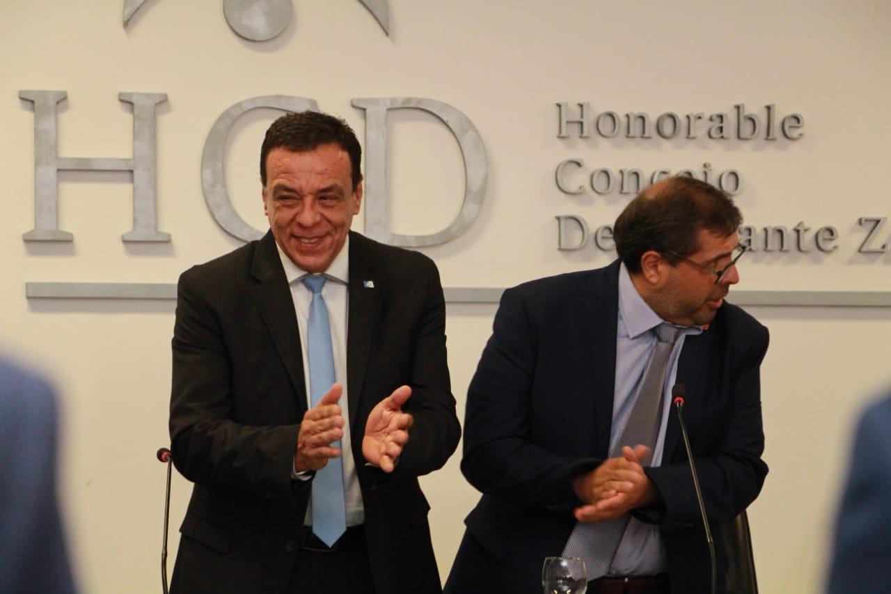 El Intendente Cáffaro abrió el período de sesiones del HCD