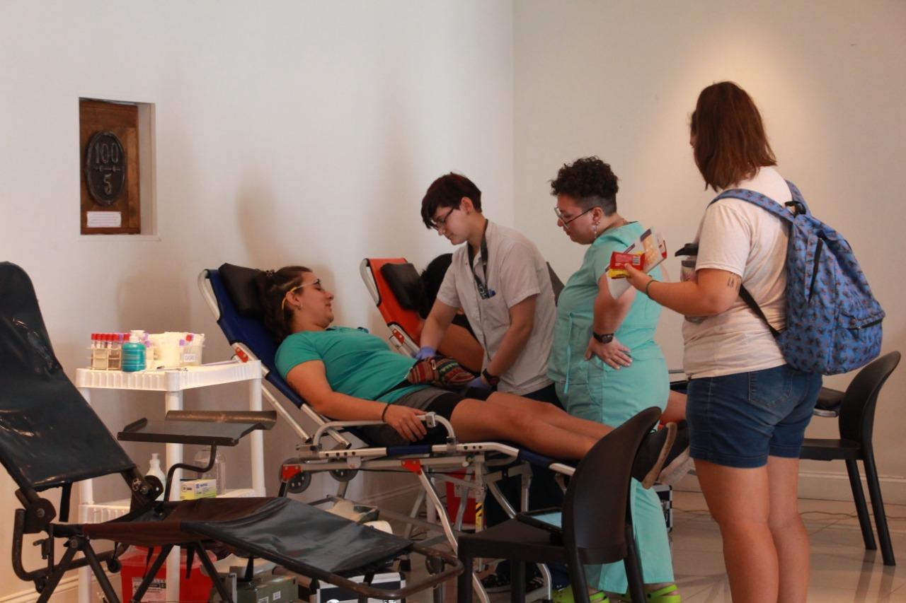La 6° campaña de donación de sangre en Zárate fue un éxito
