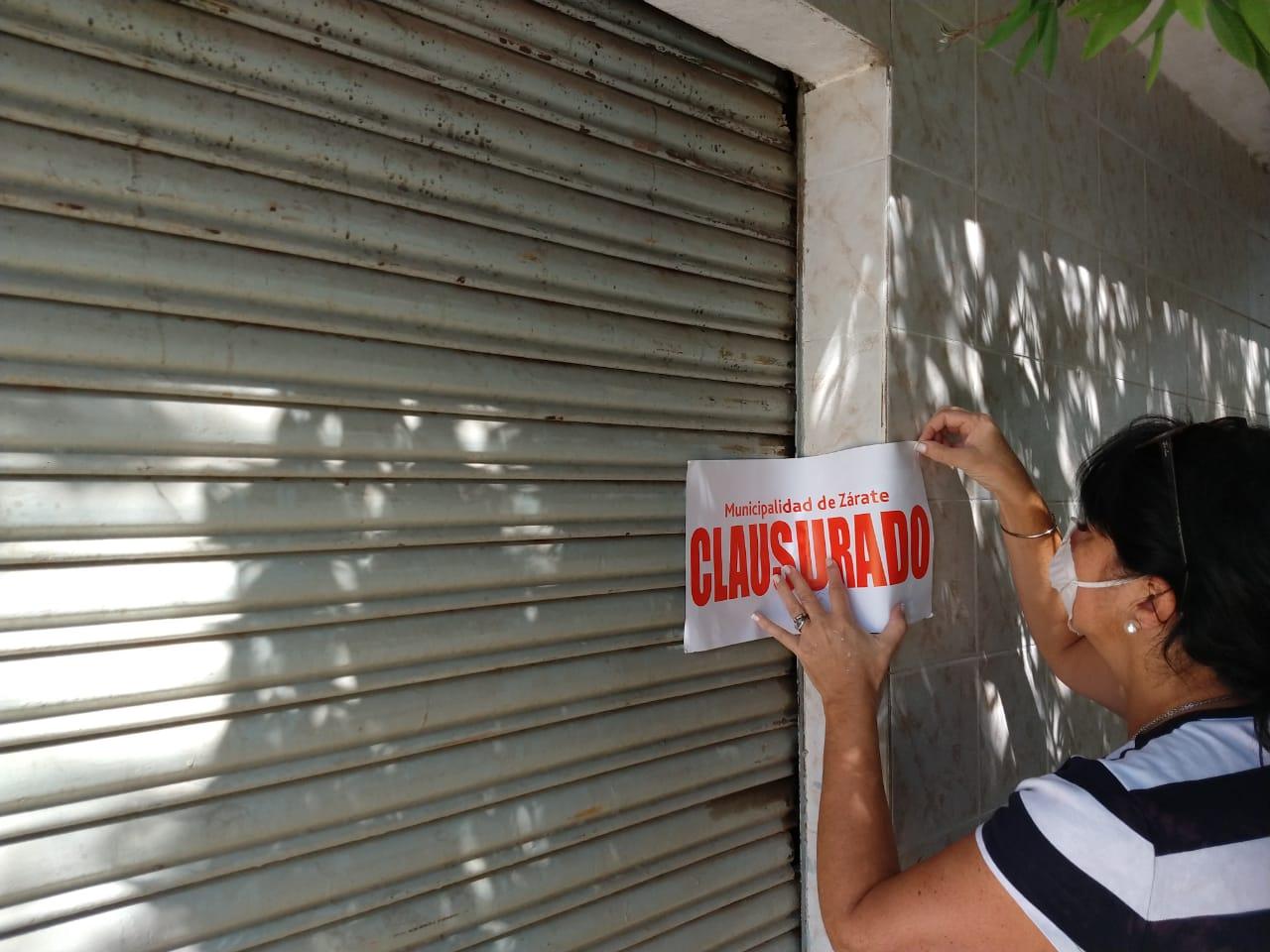 El Municipio informó sobre Clausuras en los operativos de Inspección que se están realizando.