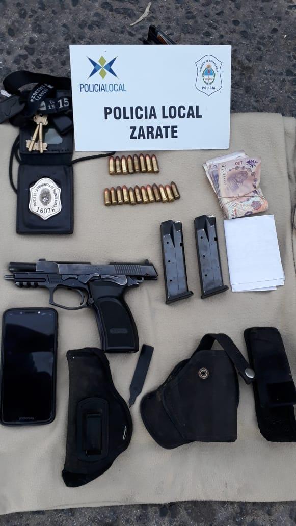 Operativos de seguridad: un detenido en barrio Pitrau
