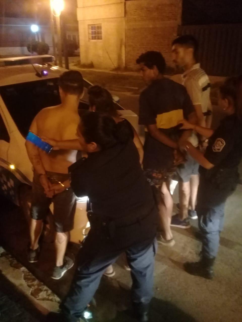 Seguridad: Cinco detenidos en un Operativo de Seguridad del Municipio