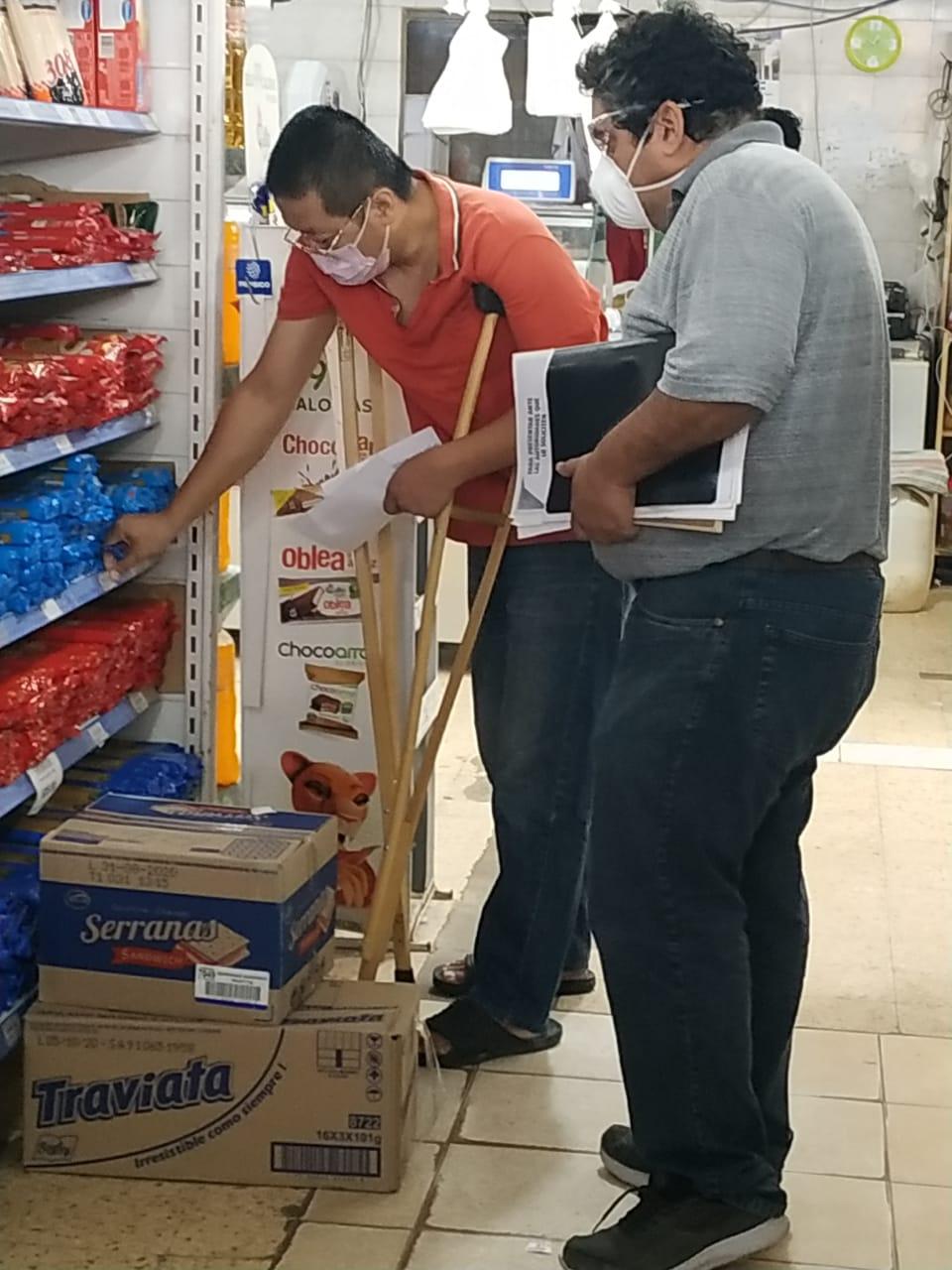 Lima: OPERATIVOS EN COMERCIOS