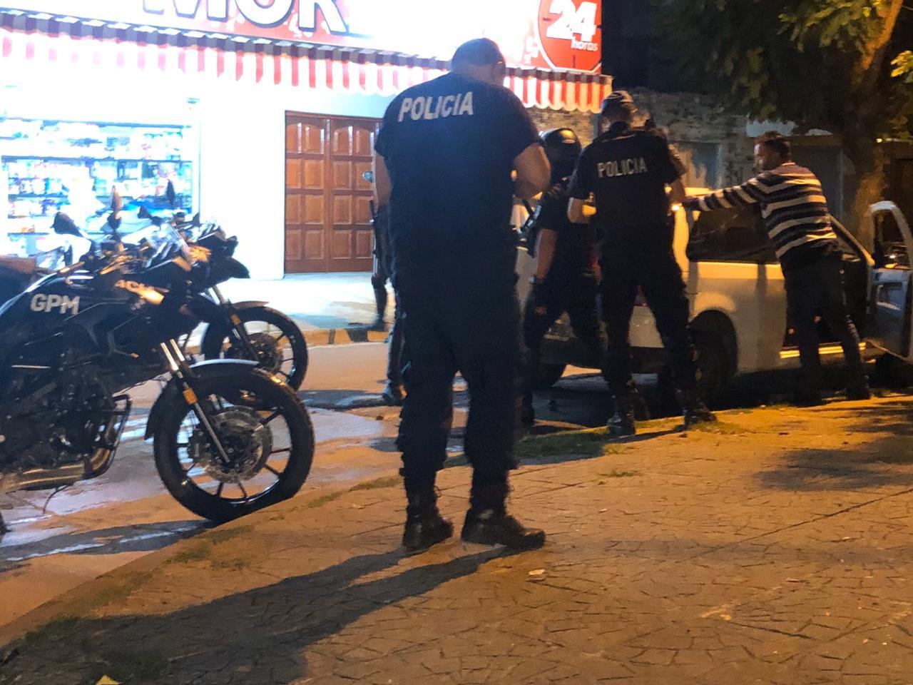 Tres detenidos en un Operativo de Seguridad del Municipio