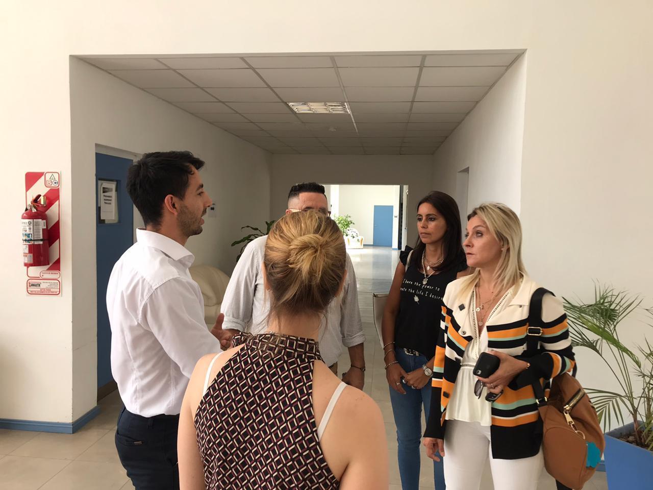 Municipio se reunió con funcionarios de Educación de Exaltación de la Cruz