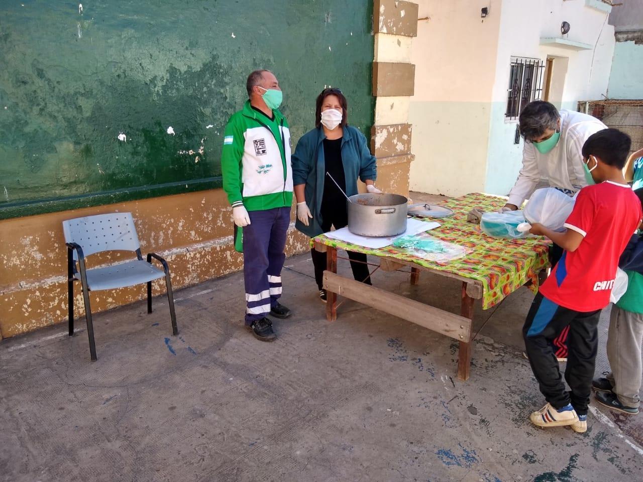 El Municipio continúa desarrollando intensamente el Programa Emergencia Alimentaria