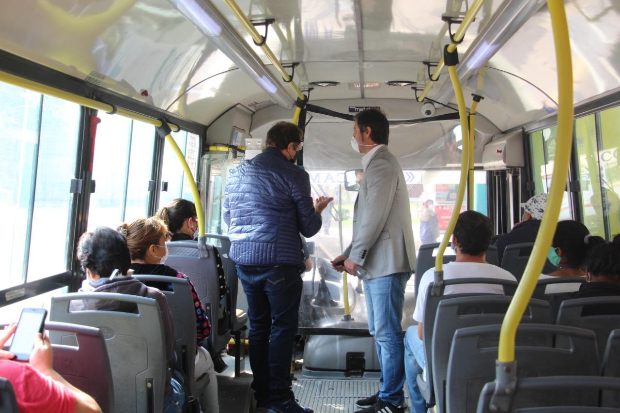 Cáffaro recibió al Subsecretario de Transporte de la provincia de Buenos Aires