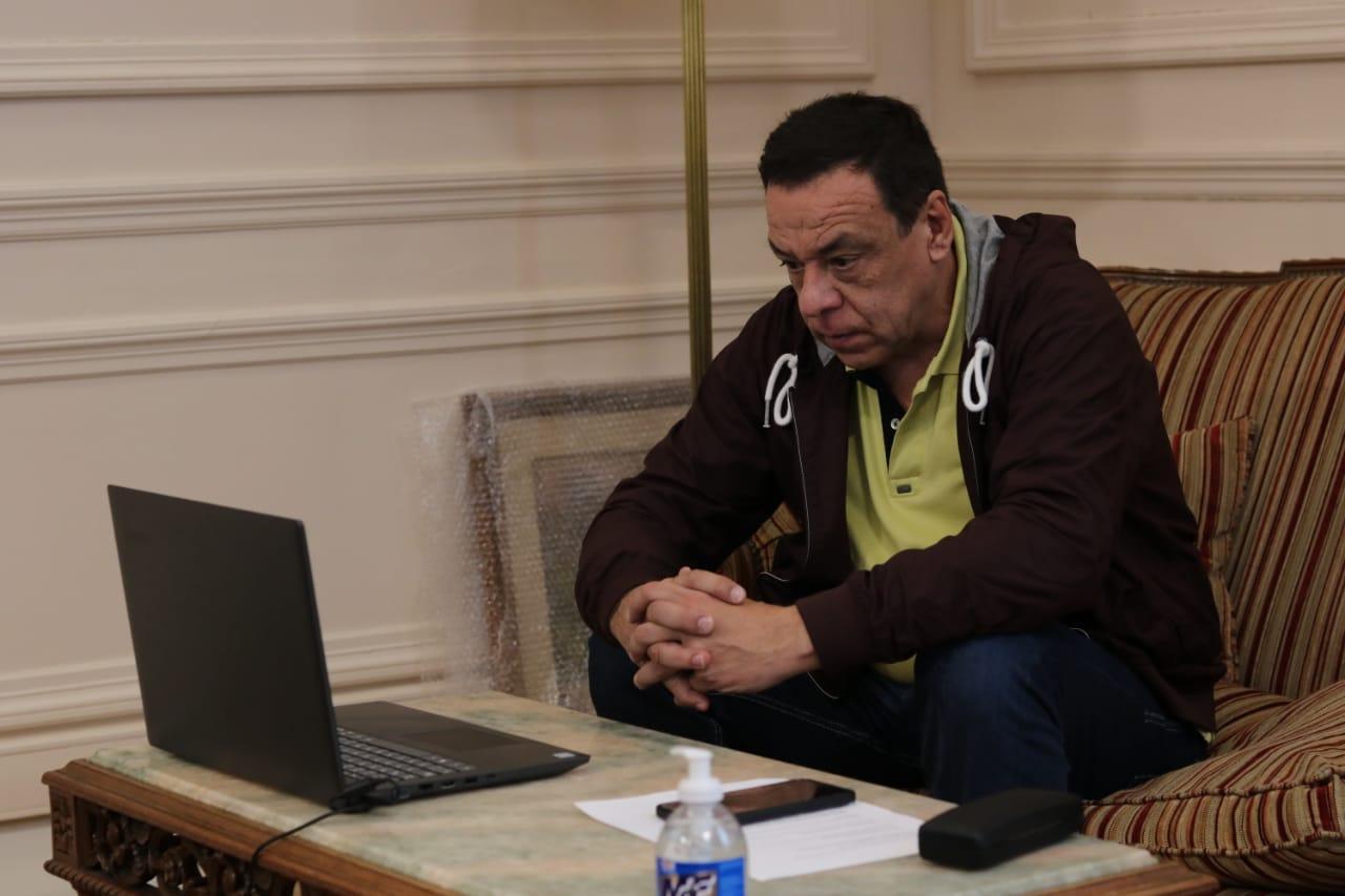 Cáffaro mantuvo una nueva reunión mediante teleconferencia con el Gobernador Kicillof