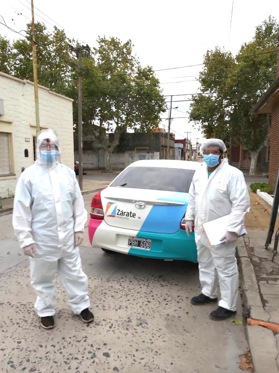 La Secretaría de Salud acercó la vacunación antigripal a geriátricos de la ciudad