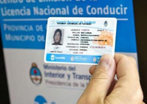 Nueva postergación de los vencimientos de las licencias de conducir