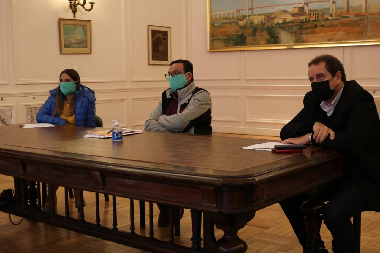 Cáffaro mantuvo una nueva teleconferencia con el Gobernador Kicillof