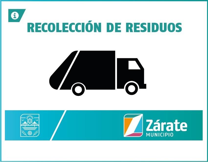 Cronograma de recolección de residuos por el feriado del 20 de Junio y nuevo horario nocturno de invierno