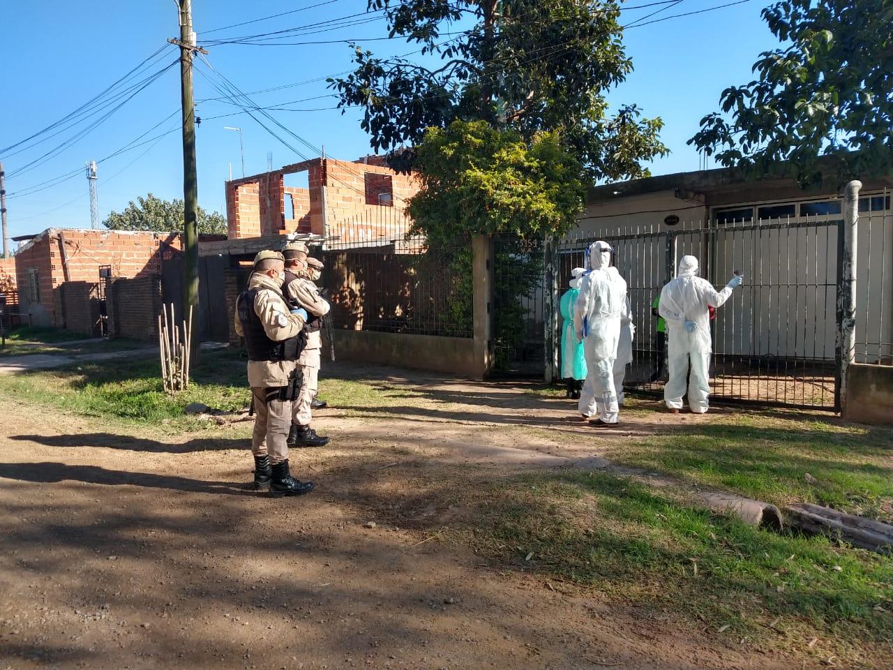 Operativos sanitarios en barrios de la ciudad