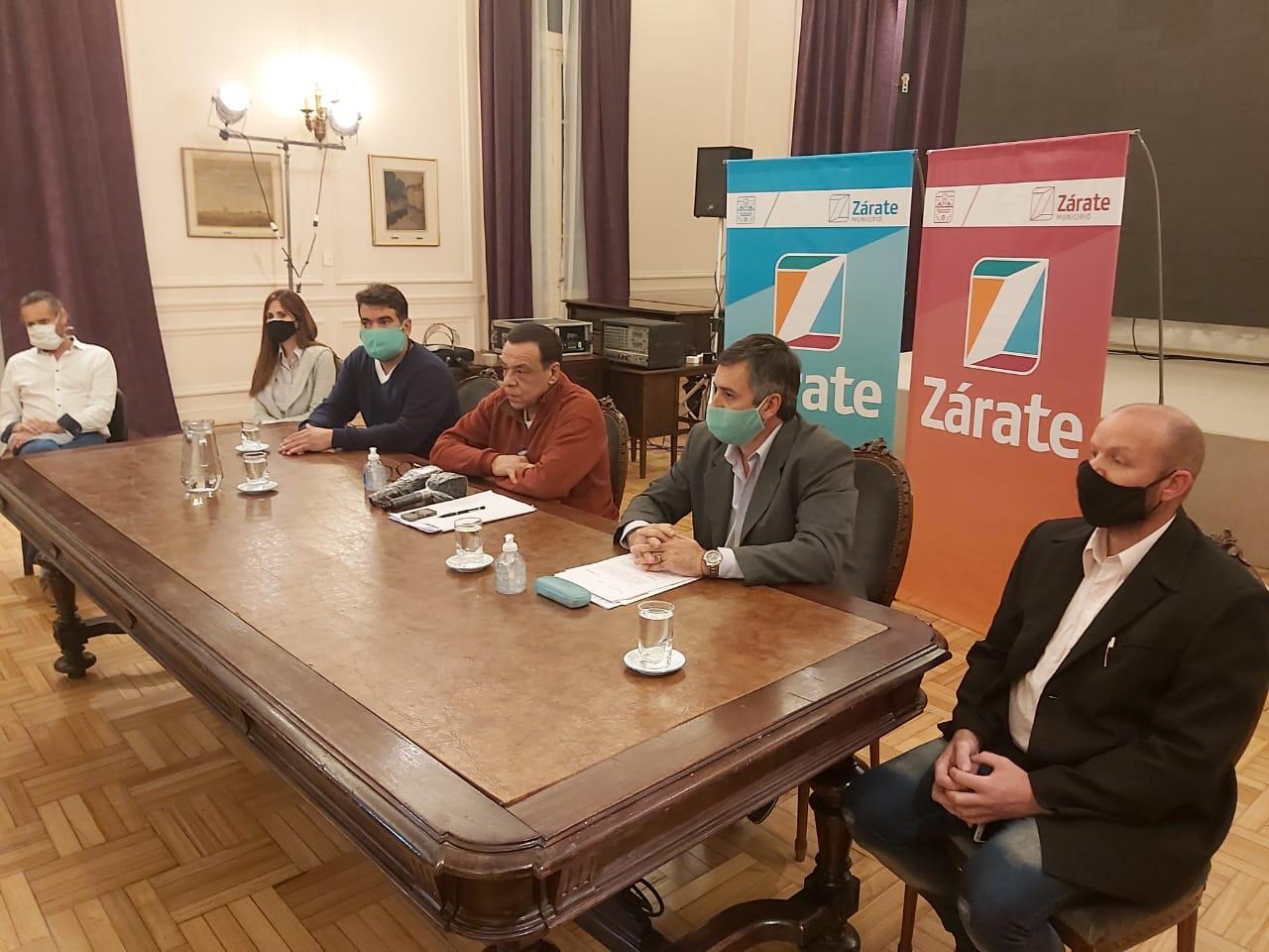 Cáffaro presentó la nueva plataforma digital para que rubros autorizados pueden trabajar a través del sistema de delivery