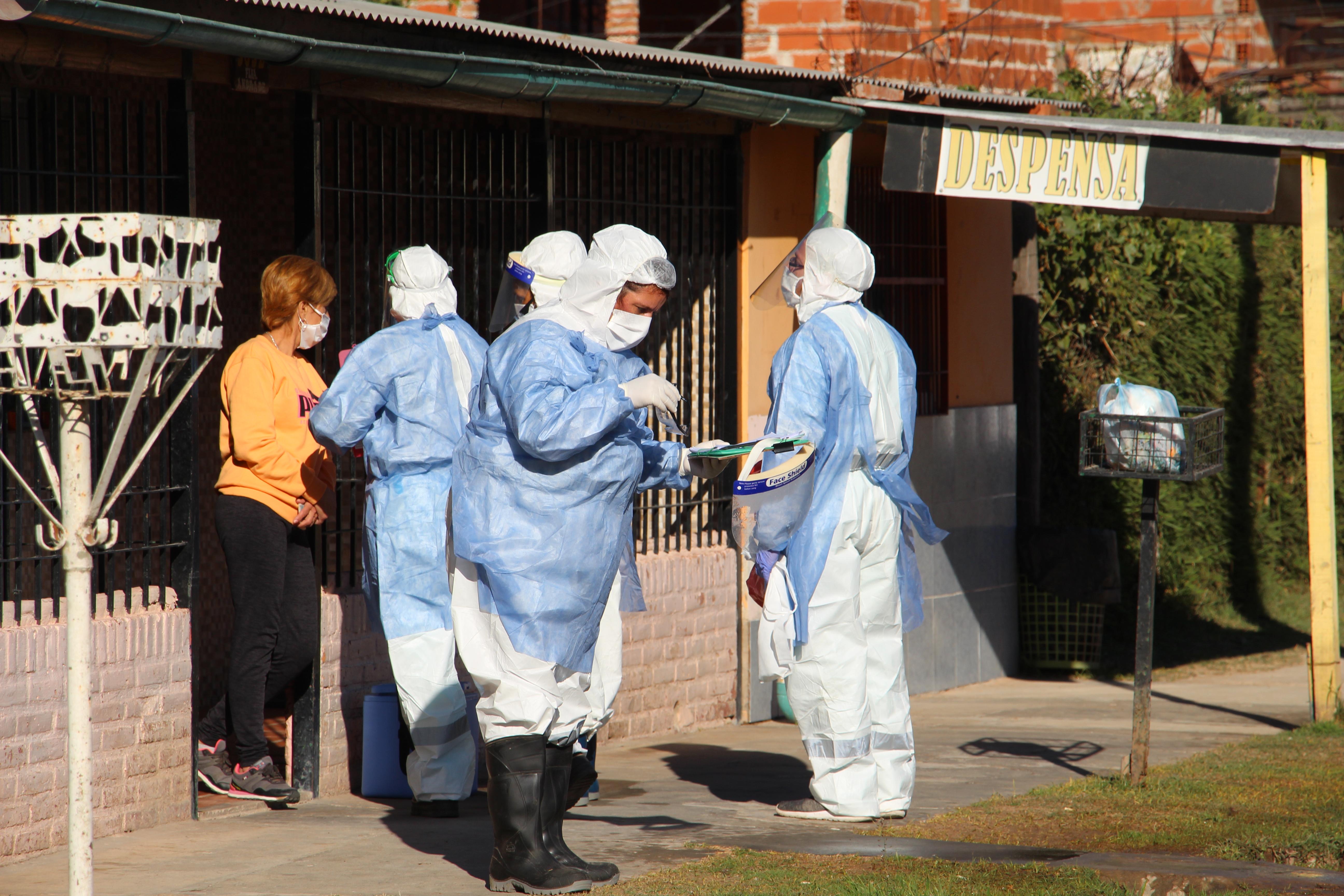 El Municipio continúa desarrollando importantes operativos sanitarios en el territorio