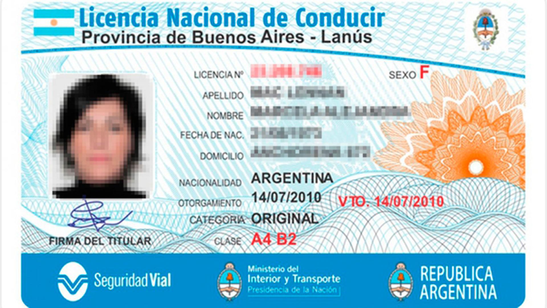 Nueva Prórroga en  los vencimientos de las Licencias de Conducir