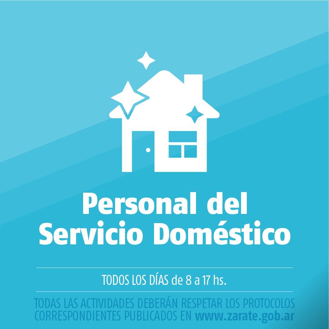 Municipio informa la habilitación de trabajo para Personal Doméstico, en el partido de Zárate