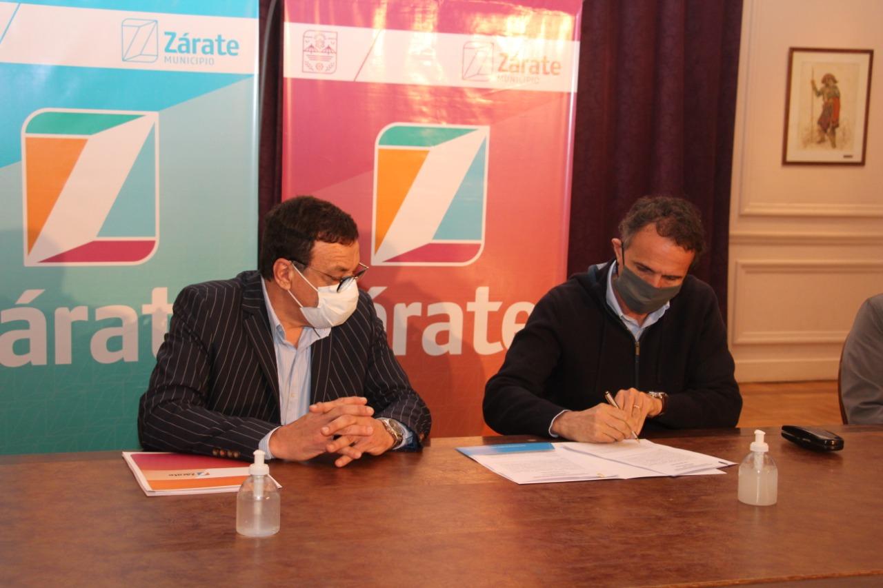 Cáffaro, recibió al Ministro de Obras Públicas de la Nación, Gabriel Katopodis
