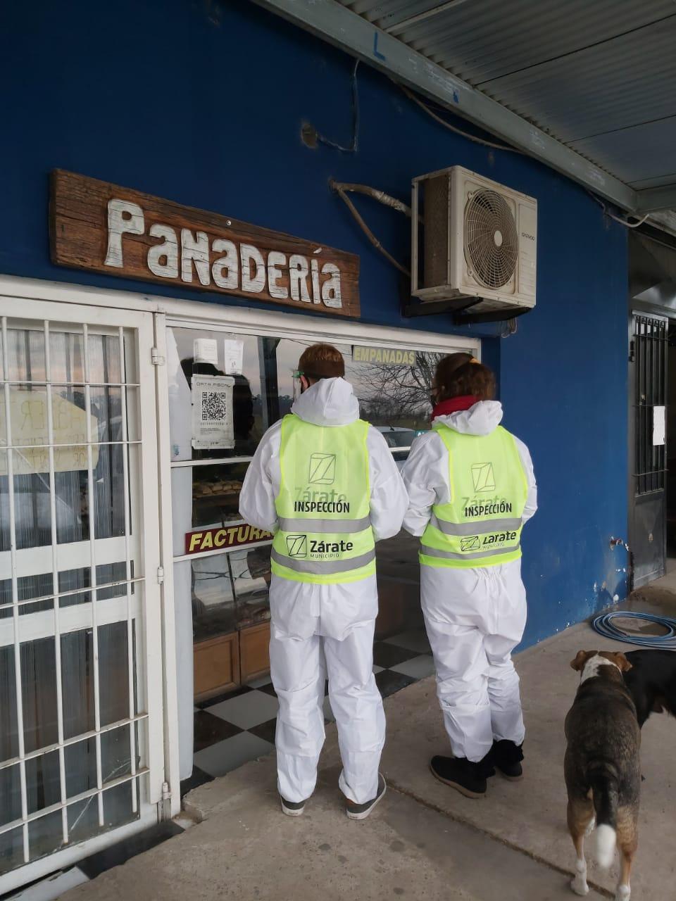 Municipio continúa diariamente con los controles e inspección en comercios del Partido