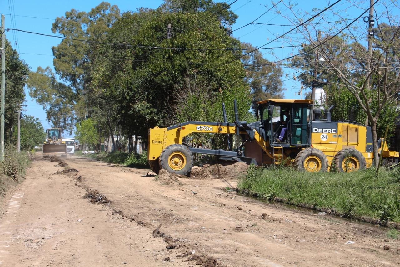 El Municipio fortalece los servicios públicos, y profundiza trabajos de mantenimiento de calles en plena pandemia