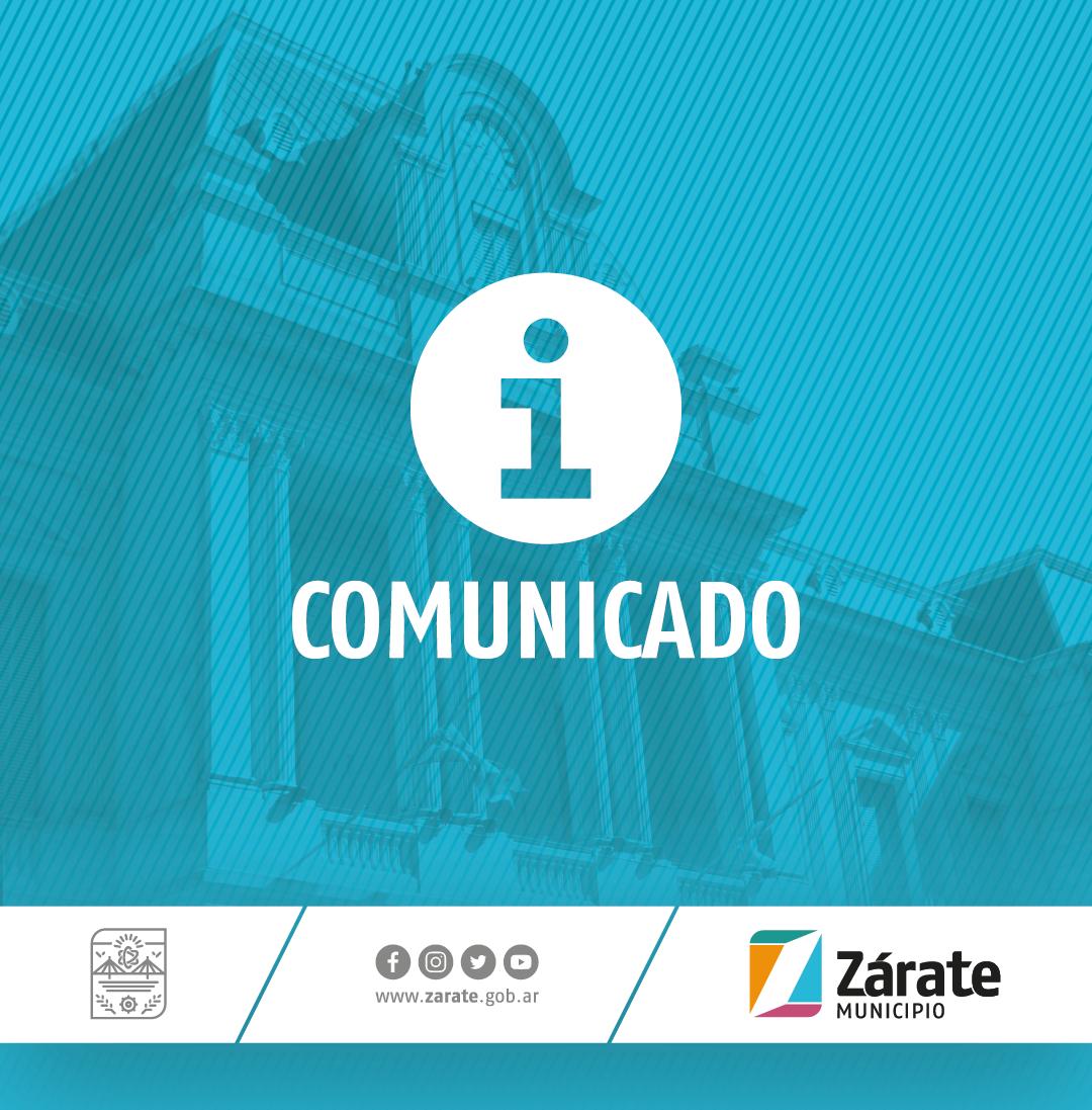 El intendente Osvaldo Cáffaro anunció un nuevo aumento salarial del 10% para los trabajadores y trabajadoras municipales