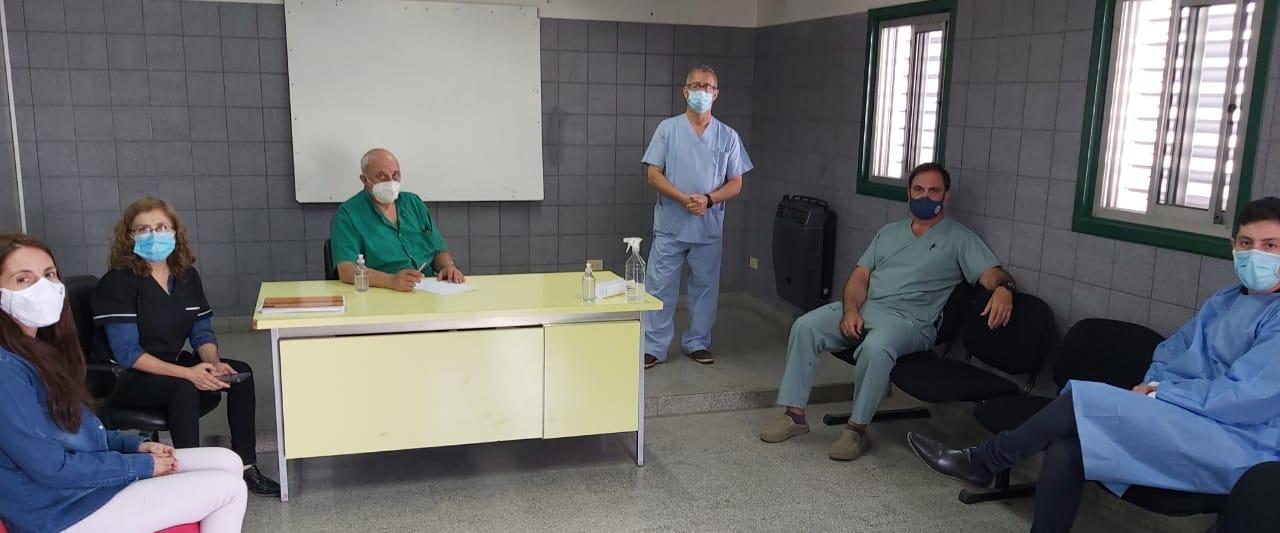 Salud: Autoridades del Municipio mantuvieron una nueva reunión con la Dirección del Hospital Virgen del Carmen