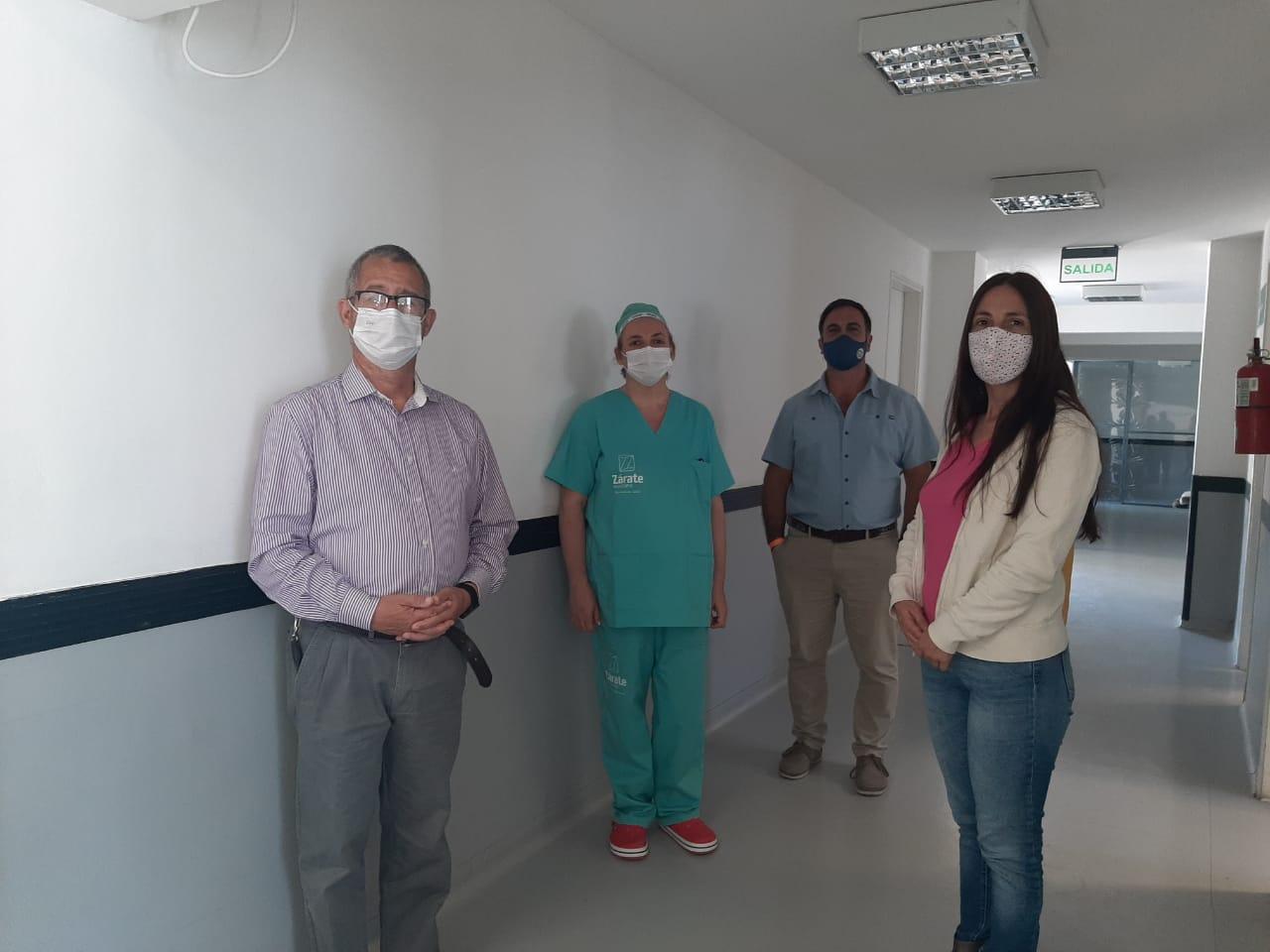 Autoridades de Salud recorren establecimientos de Zárate y Lima