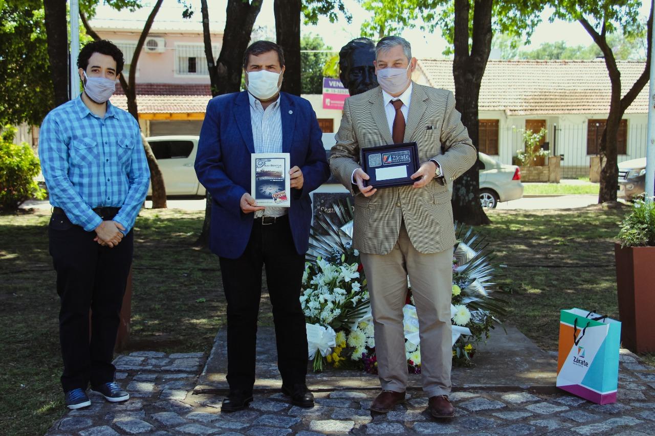 El Municipio recibió la visita del embajador uruguayo Carlos Enciso