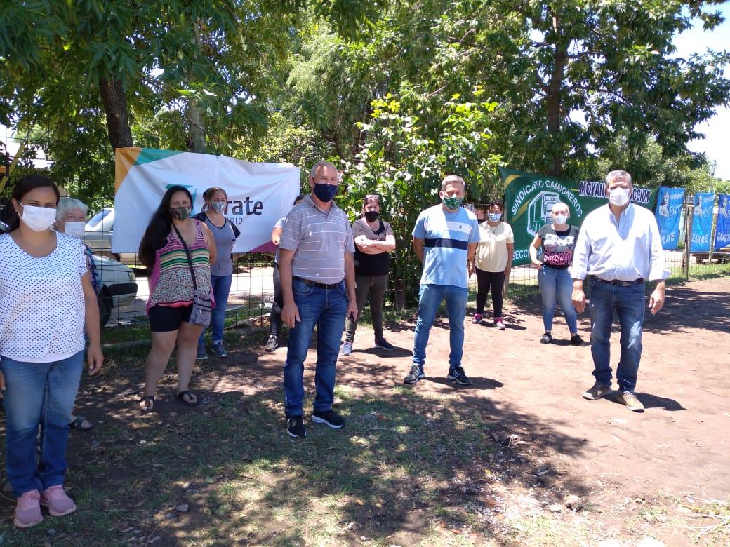 El Municipio presente con el Programa General Alimentario en barrio 6 de agosto