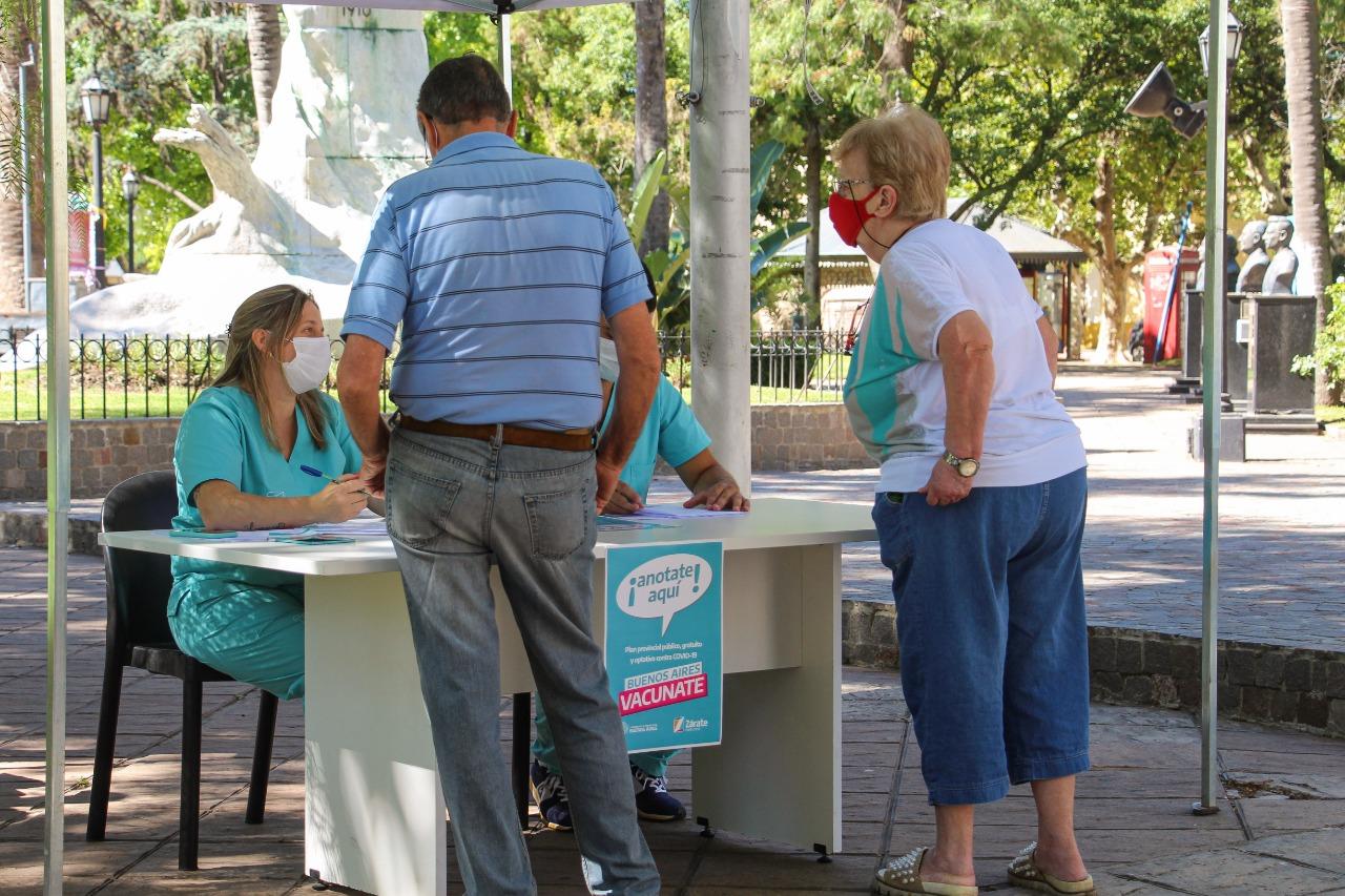 El Municipio habilitó en Zárate y Lima puestos de inscripción para la vacunación contra el COVID-19