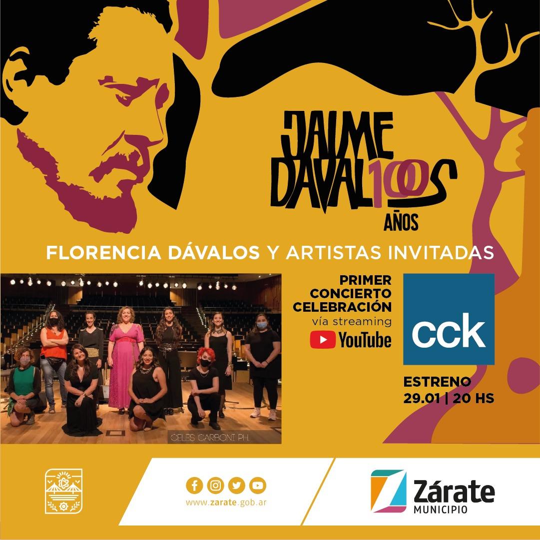 Jaime Dávalos, zarateño por adopción, a 100 años de su nacimiento será homenajeado con múltiples encuentros musicales y poéticos