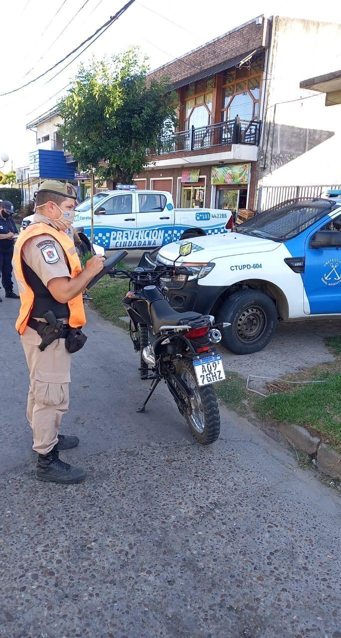 Municipio y Prefectura Naval, hicieron operativos de seguridad con el objetivo de prevenir delitos