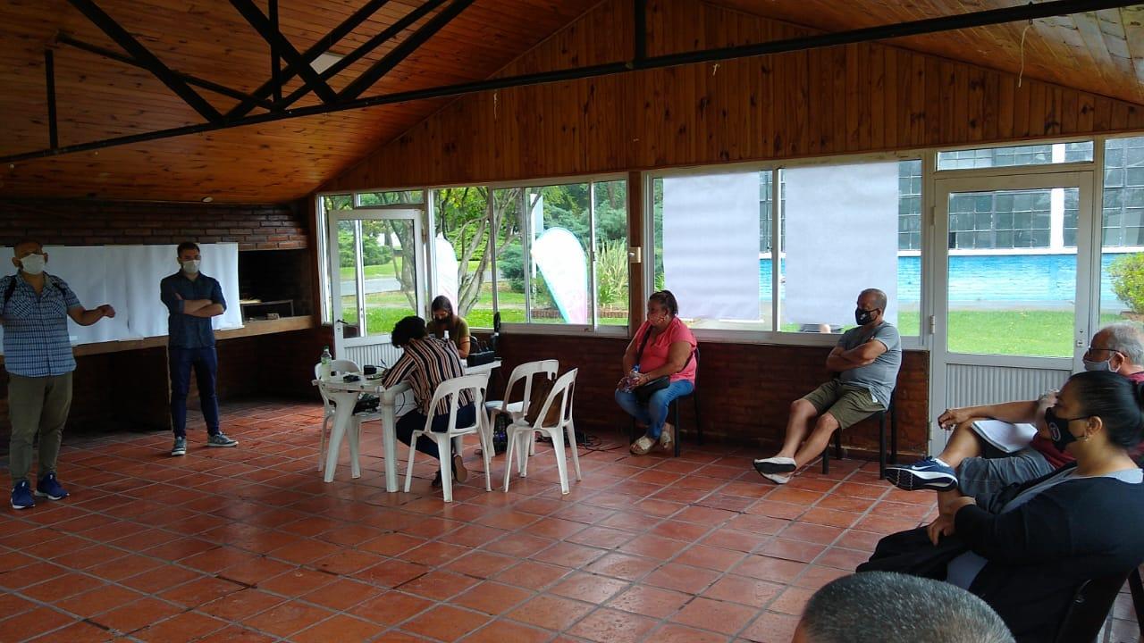 Clubes de barrio, ubicados en la zona 1, adhirieron al Programa Solidaridad Urbana