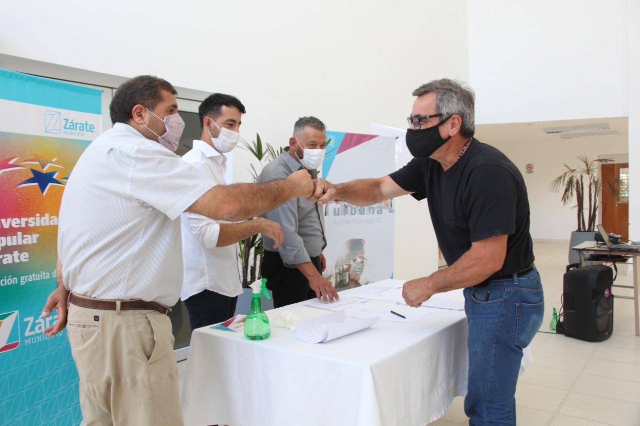 Seis instituciones junto al Municipio, firmaron el acta compromiso para sumarse al Programa Solidaridad Urbana