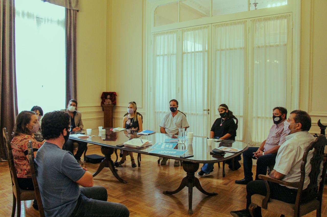 Municipio y SUTEBA trataron sobre la Campaña de Vacunación