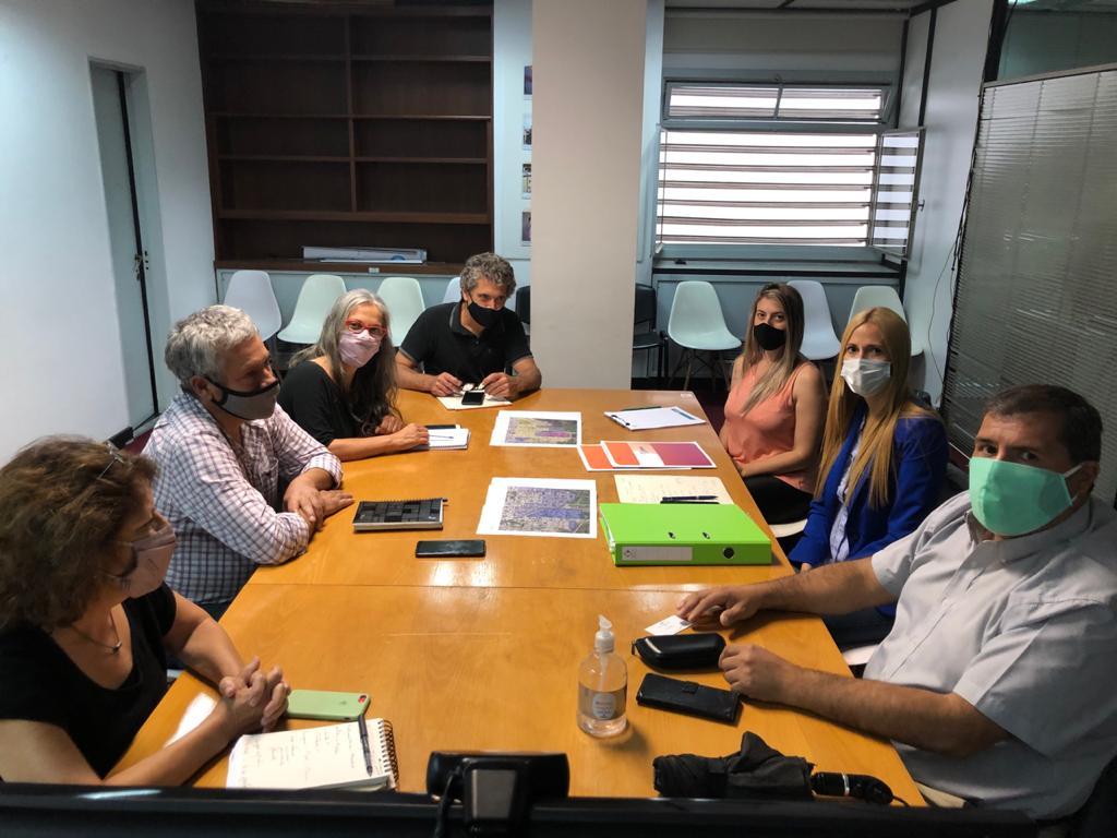 Municipio participó de una reunión en el Ministerio de Hábitat de la Nación para continuar el mejoramiento de barrios