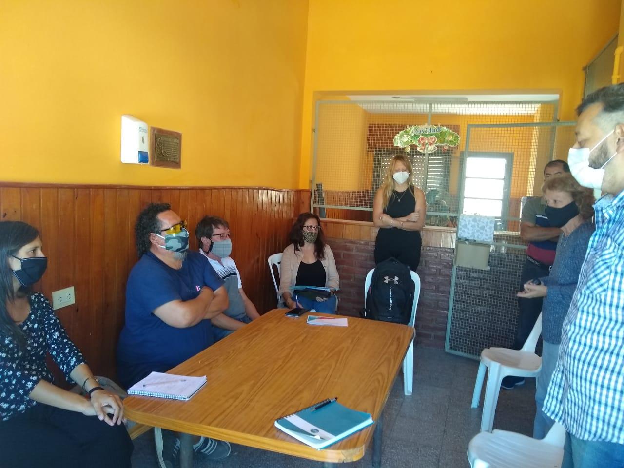 Solidaridad Urbana: Municipio y clubes trabajan en los diagnósticos participativos para beneficio de las instituciones