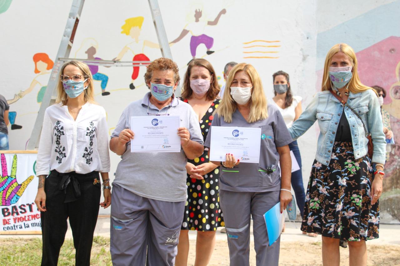 El Municipio realizó una actividad por el Día Internacional de la Mujer
