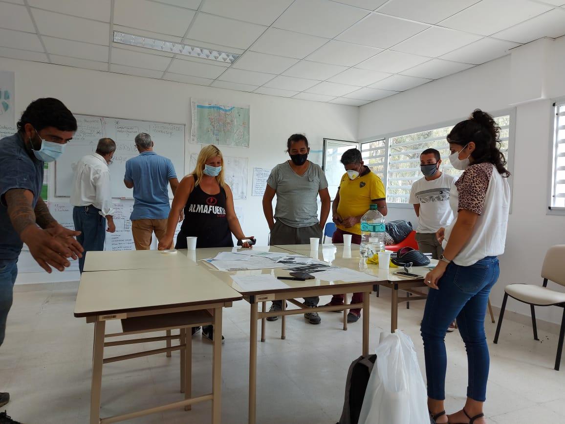 Reuniones del Municipio y entidades, para avanzar dentro el programa Master plan del hábitat Solidaridad Urbana